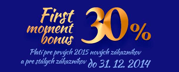 SENECA TOURS - First moment bonus 30%